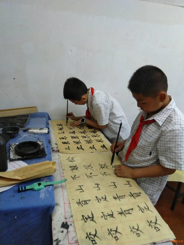 南京少儿书法培训班书协老师教书法暑假班